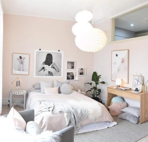 Check And Try Wall Decor In Your Daughter Bedroom 30