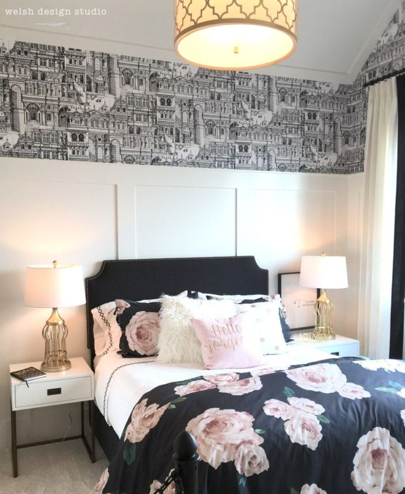 Cozy Teen Bedroom Decoration On Pink Style 18