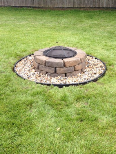 How To Make DIY Fire Pit In Garden With Low Budget 05