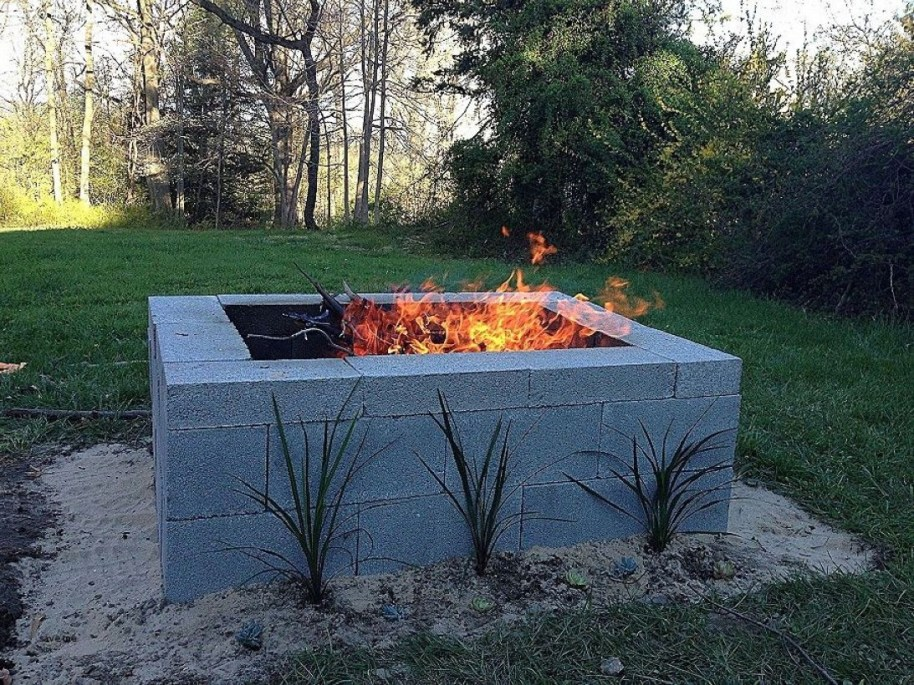 How To Make DIY Fire Pit In Garden With Low Budget 10