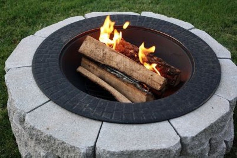 How To Make DIY Fire Pit In Garden With Low Budget 17