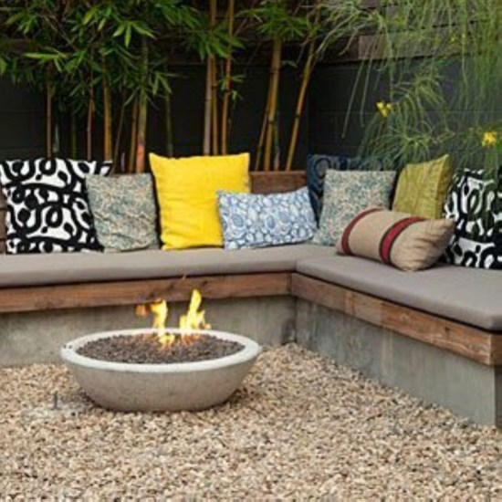How To Make DIY Fire Pit In Garden With Low Budget 21