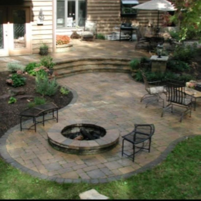 How To Make DIY Fire Pit In Garden With Low Budget 34