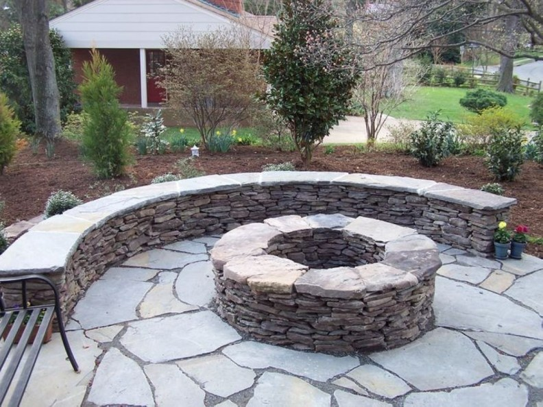 How To Make DIY Fire Pit In Garden With Low Budget 45