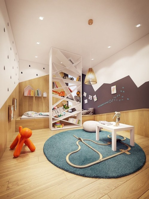 Kid Room Design With Good Furniture And Accessories 07