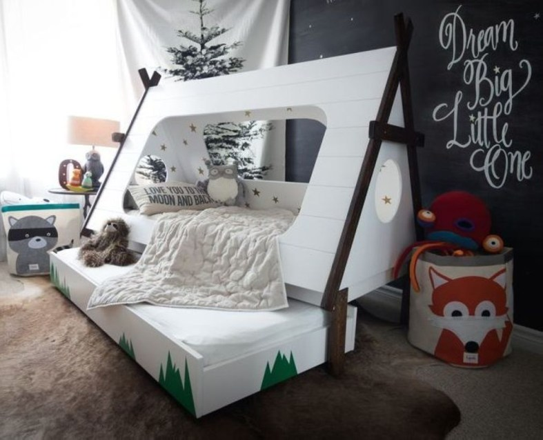 Kid Room Design With Good Furniture And Accessories 19