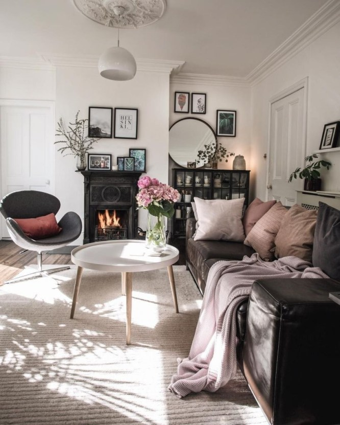 Light And Style Scandinavian Living Room Design 22