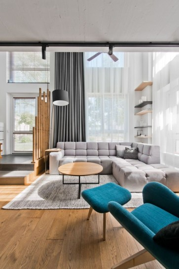 Light And Style Scandinavian Living Room Design 40