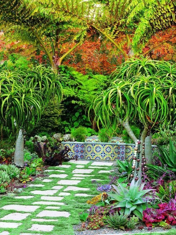 Tropical Plantation Ideas You Can Try In Your Garden23