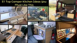 51 Top Camper Kitchen Ideas You Must Like This