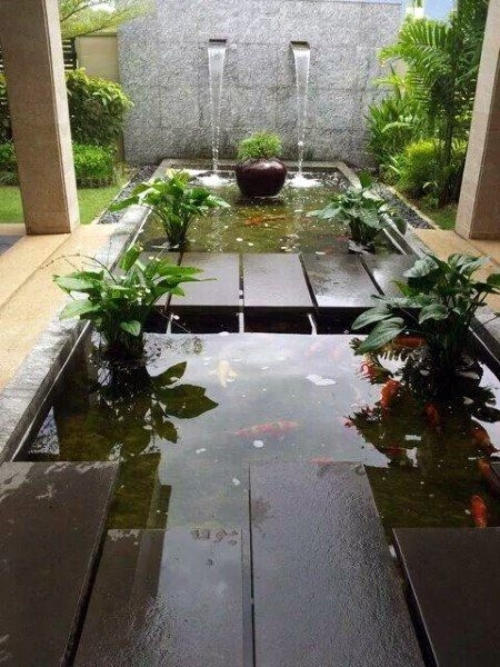 Amazing Indoor Fish Pond To Upgrade Your House 04