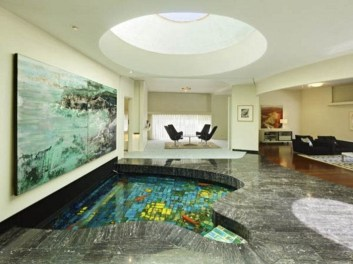 Amazing Indoor Fish Pond To Upgrade Your House 24