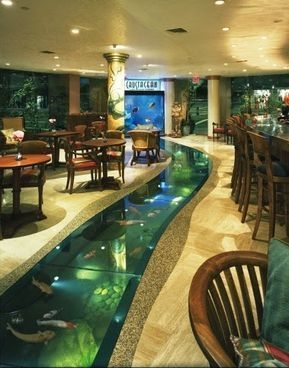 Amazing Indoor Fish Pond To Upgrade Your House 27