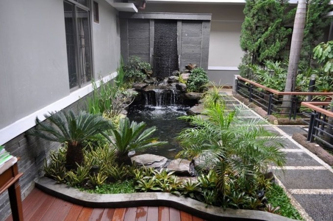 Amazing Indoor Fish Pond To Upgrade Your House 32