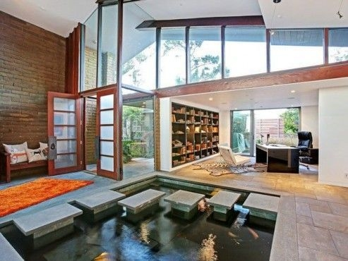 Amazing Indoor Fish Pond To Upgrade Your House 47