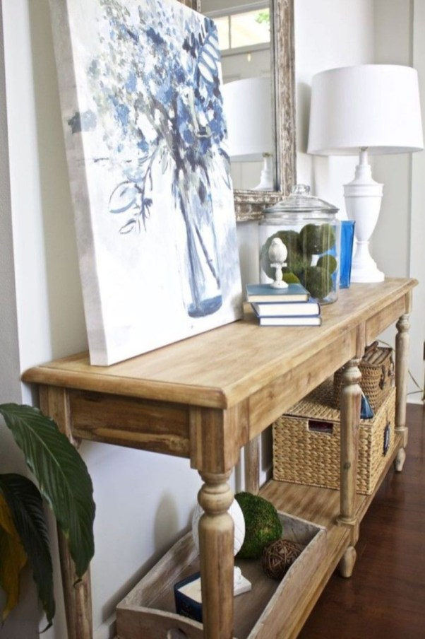 Beautiful Entry Table Decor Ideas To Updating Your House 09