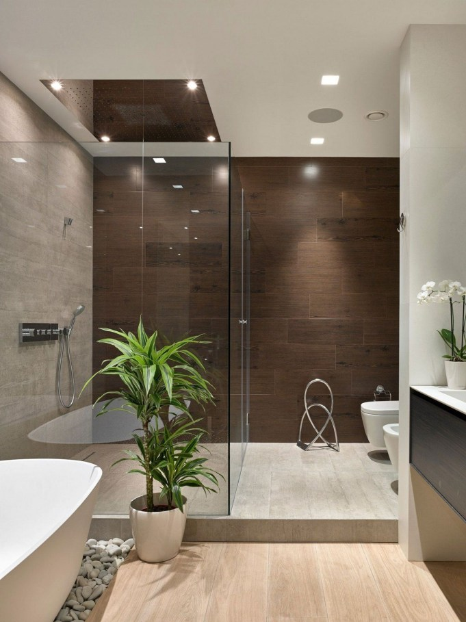 Beautiful Modern Bathroom Design You Can Try 44