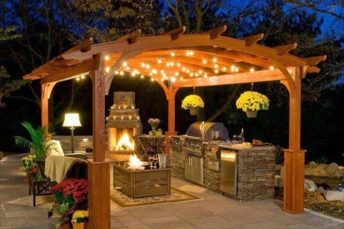 Best Backyard Gazebo Made From Pallets 02