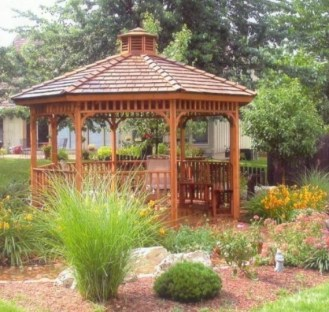 Best Backyard Gazebo Made From Pallets 06
