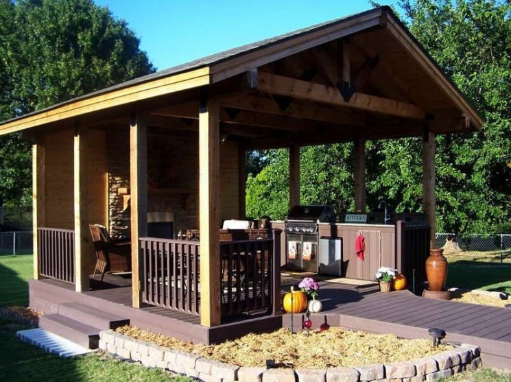Best Backyard Gazebo Made From Pallets 07