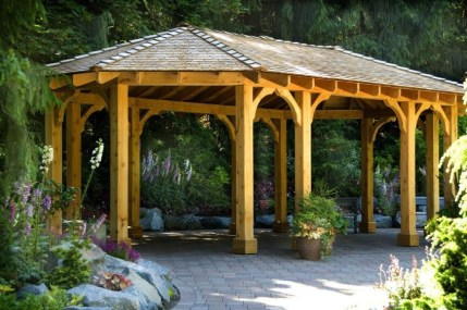 Best Backyard Gazebo Made From Pallets 10