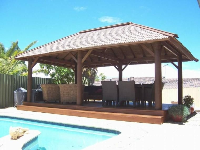 Best Backyard Gazebo Made From Pallets 11