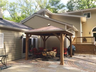 Best Backyard Gazebo Made From Pallets 13