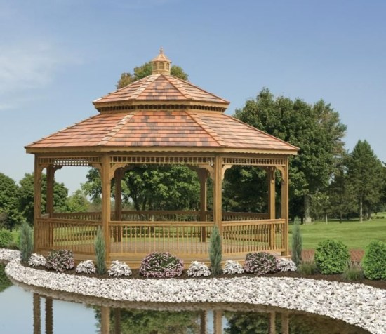 Best Backyard Gazebo Made From Pallets 19