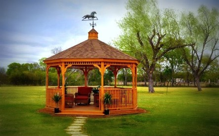 Best Backyard Gazebo Made From Pallets 20