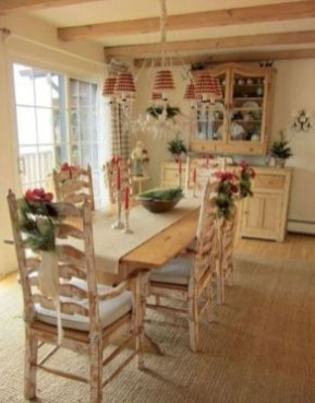 Best Decoration French Farmhouse Dining Room Design 09