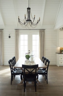 Best Decoration French Farmhouse Dining Room Design 26
