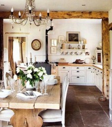 Best Decoration French Farmhouse Dining Room Design 29