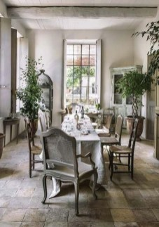 Best Decoration French Farmhouse Dining Room Design 47