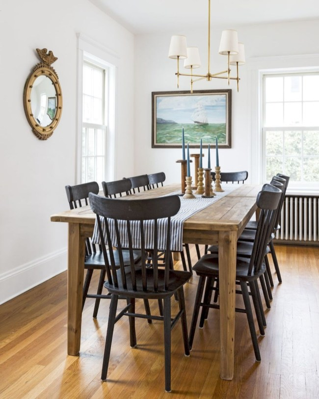 Best Decoration French Farmhouse Dining Room Design 52
