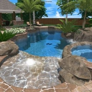 Best Outdoor Pool Design For Your Decoration 25