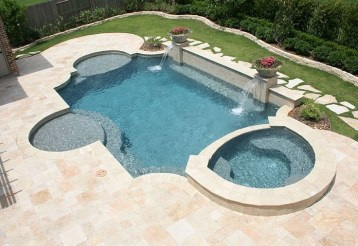 Best Outdoor Pool Design For Your Decoration 27