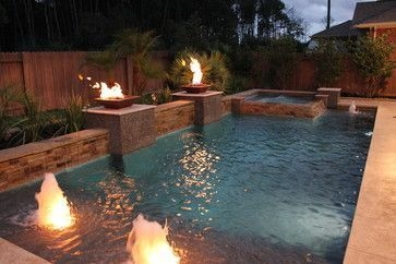 Best Outdoor Pool Design For Your Decoration 44