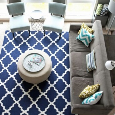 Best Rug To Decor Your First Living Room 31