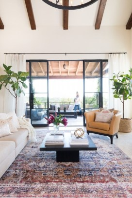 Best Rug To Decor Your First Living Room 37