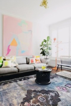 Best Rug To Decor Your First Living Room 47