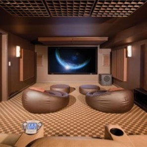 DIY Home Theater Seating Ideas 15