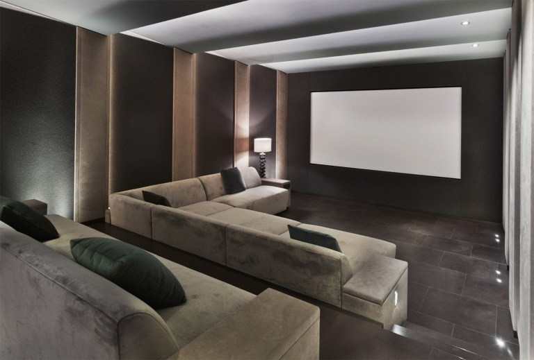 DIY Home Theater Seating Ideas 22