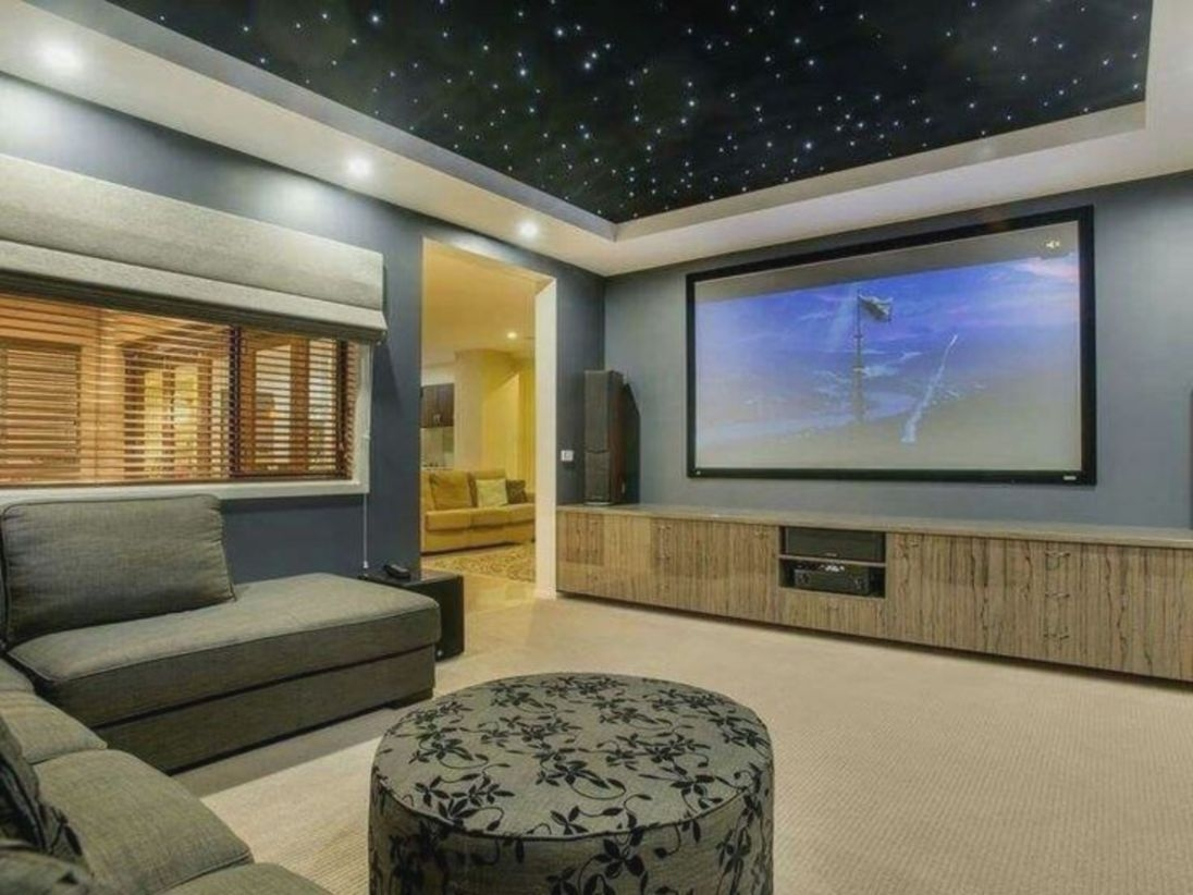 DIY Home Theater Seating Ideas 23