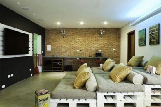 DIY Home Theater Seating Ideas 50