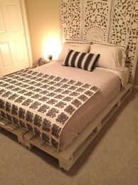 DIY Pallet For Bed Place For Your Idea 16