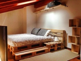 DIY Pallet For Bed Place For Your Idea 18