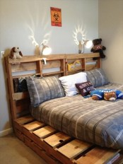 DIY Pallet For Bed Place For Your Idea 30