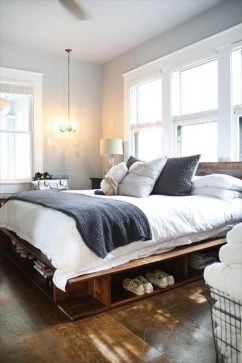 DIY Pallet For Bed Place For Your Idea 31