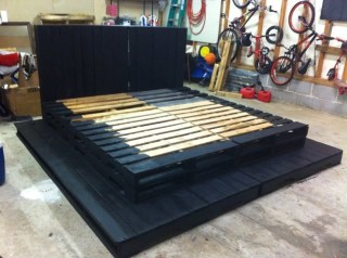DIY Pallet For Bed Place For Your Idea 40