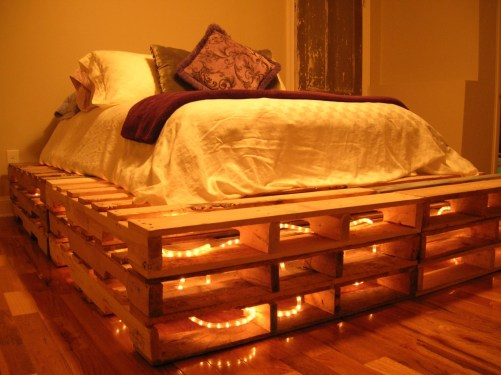 DIY Pallet For Bed Place For Your Idea 47